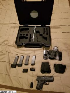 "For Sale: Springfield XDS 45 3.3"" Barrel with Extras"
