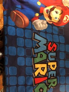 Mario comforter and sheets