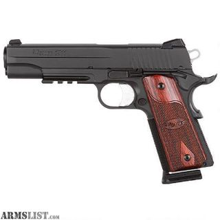 Want To Buy: Sig Sauer 1911R Nitron Rail with Rosewood Grips