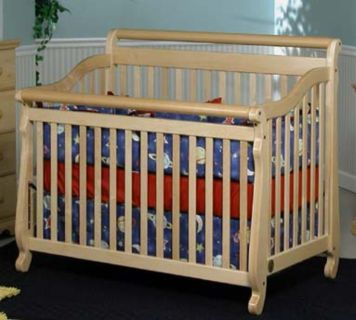 Crib with mattress and sheets (if wanted)