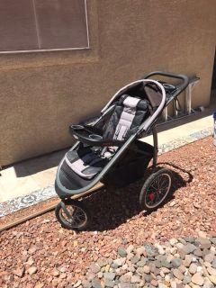 Graco FastAction Fold Jogger Stroller, Gotham