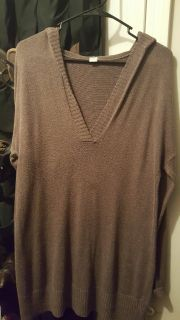 Old Navy Hooded Sweater Med long fit