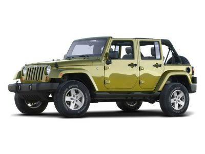 2008 Jeep Wrangler Unlimited Sahara (Bright Silver Metallic)