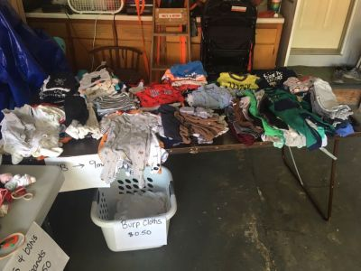 Little boy nb-9 mo GARAGE SALE TODAY!