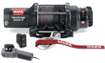 Find Warn 89041 Vantage ATV UTV Quad Winch 4000 Lb 50' 7/32 Synthetic Rope Hawse motorcycle in Galion, Ohio, United States, for US $407.99