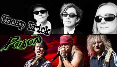 Poison and Cheap Trick tickets