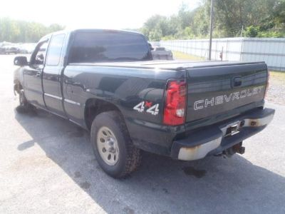 Find 2006 CHEVY SILVERADO 6 1/2 FT SHORT BED GREEN NO RUST FREE DELIVERY motorcycle in Vershire, Vermont, US, for US $1,500.00