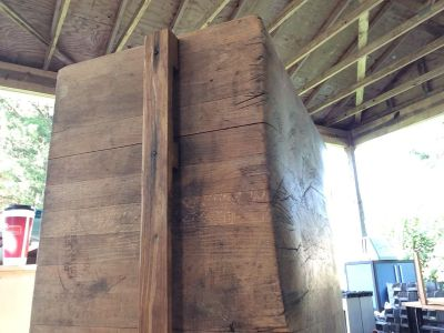 Giant Old Chopping Block