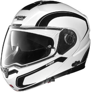 Buy Nolan N104 Action White/Silver/Black Modular Motorcycle Helmet Size Xlarge motorcycle in South Houston, Texas, US, for US $449.95