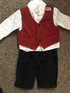Bt kids holiday Christmas suit outfit