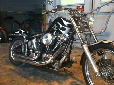 Custom 1995 Harley Davidson Softail FXSTC (Softtail, soft tail)