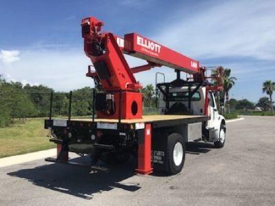Elliott L60R Hi-Reach Sign Crane Truck For Sale
