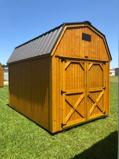 Durable 8 X 12 Lofted Barn. Quality Is Key! $105 Down, Ask About Our Free Delivery !!!