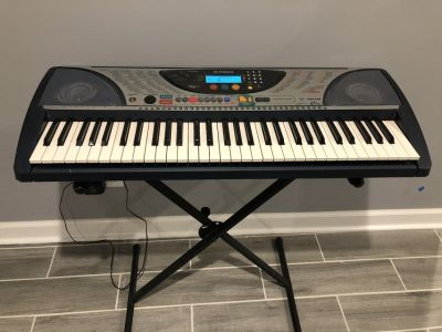 Yamaha PSR240 Touch-Sensitive Electronic Keyboard with Stand