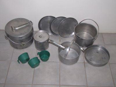camping cook set