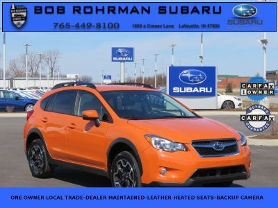 2015 Subaru XV Crosstrek 2.0i Limited (Tangerine Orange Pearl)