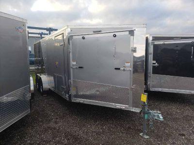 2019 US Cargo ADXST723TA2 AMERALITE 3 PLACE SNOWMOBILE Utility Trailers Kaukauna, WI