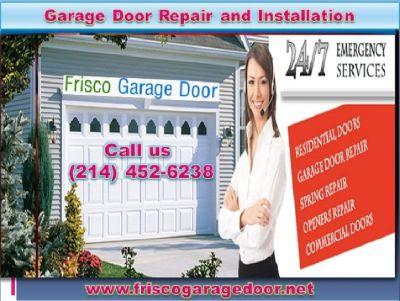 Accurate New Garage Door Installation company Frisco, TX