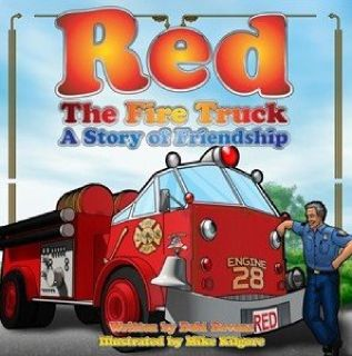 """Red the Fire Truck: A Story of Friendship"" Children's Books"