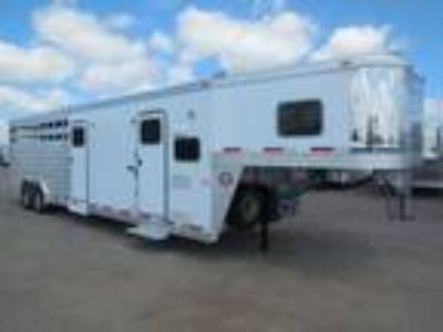 2013 Exiss Living Quarters 4 horse / stock layout, MID TACK,