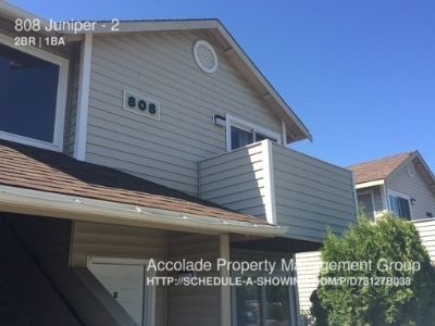 2 Bedroom Home Located just North of Campus