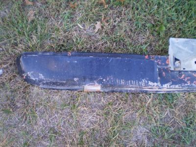 Amc javelin amx under rear bumper pan off 1974 VALANCE SPOILER 1968 74