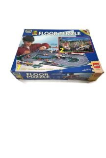 1996 LEGO 2 Sided 2'x3' Floor Puzzle - Complete