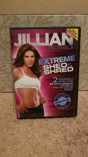 Jillian Michael's Extreme Shed & Shred workout DVD