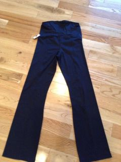 BeMaternity-Active Black Pant with Crossover Panel -New with tags!