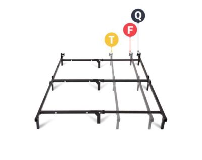 ISO 2 twin metal bed frames