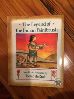 Tomie dePaola - The Legend of the Indian Paintbrush Paperback