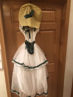 Young girls Southern Belle Costume