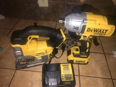 jigzaw and impact wrench XR