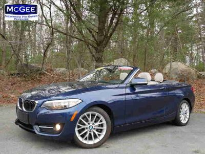 Used 2016 BMW 2 Series 2dr Conv AWD