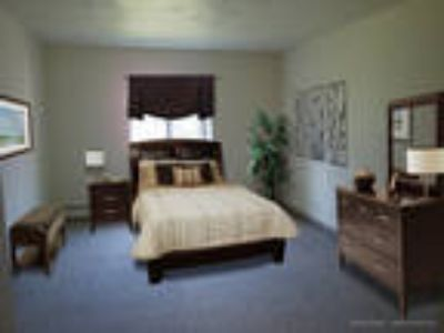 Pittsford Garden Apartments - Two BR, One BA 673 sq. ft.