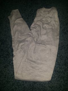 Gray thermal pants size s