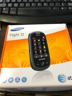 NEW IN BOX, NEVER USED - AT&T SAMSUNG FLIGHT II PHONE w/CHARGER