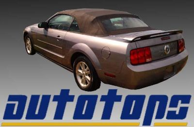 Find Mustang Convertible Top W/ Defroster Glass Window 05-11 - Black Sailcloth Vinyl motorcycle in Shamokin, Pennsylvania, US, for US $415.00