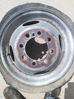 Buy 16.5 MOTORHOME WHEEL 1975 1978 FORD DODGE WINNEBAGO BOUNDER CAMPER TRUCK TOW P motorcycle in Lafayette, Louisiana, United States, for US $45.00