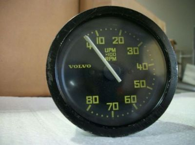 Buy Volvo 242 GT Tachometer. Rare option for GT Gauge Cluster. 1978 1979 motorcycle in Perris, California, United States, for US $175.00