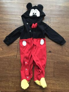 6 months Mickey costume