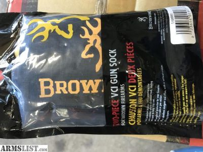 For Sale: New Unopened Browning Two Piece VCI Gun Sock