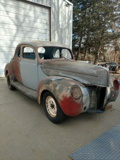 Gargage Find 40' Coupe