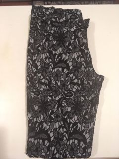 Lace dressy pants 7 seven for all mankind