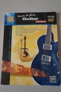 Learn to Play Guitar Book and DVD included