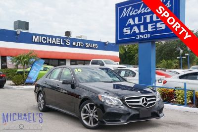 2014 Mercedes-Benz E-Class E350 Luxury (black)