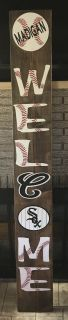 6 Welcome Patio Sign Chicago White Sox