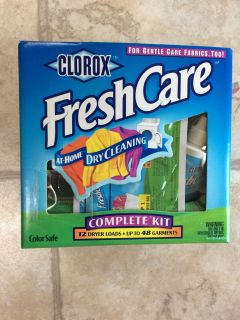 LARGE CLOROX dry cleaning kit