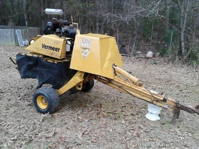 Vermeer Stump Machine 34hp