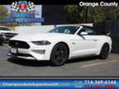 Used 2018 Ford Mustang White, 30.9K miles